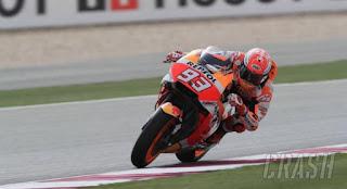 Hasil MotoGP Argentina 2018: Marquez Tercepat FP3, Rossi Ke-11