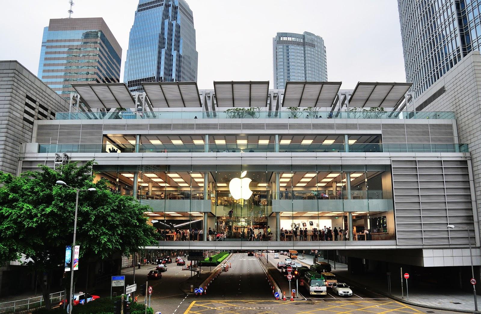 Derek Design: [ 香港中環 Apple Store ifc mall ]