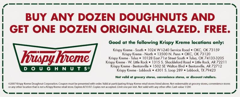 Discounts average $6 off with a Krispy Kreme promo code or coupon. 16 Krispy Kreme coupons now on RetailMeNot.