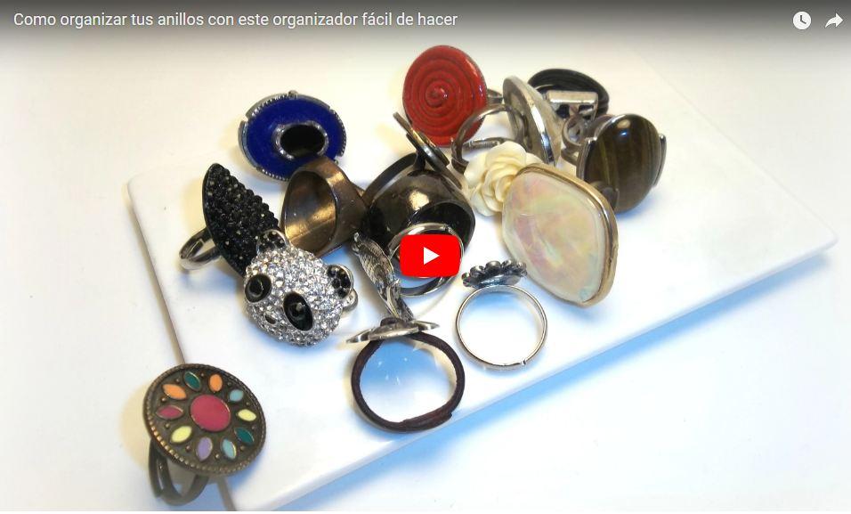 diy organizador de anillos