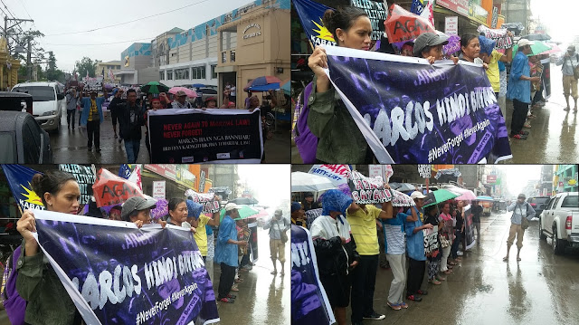 Ilocanos also protested against Marcos, saying he's no hero despite showing favoritism towards them