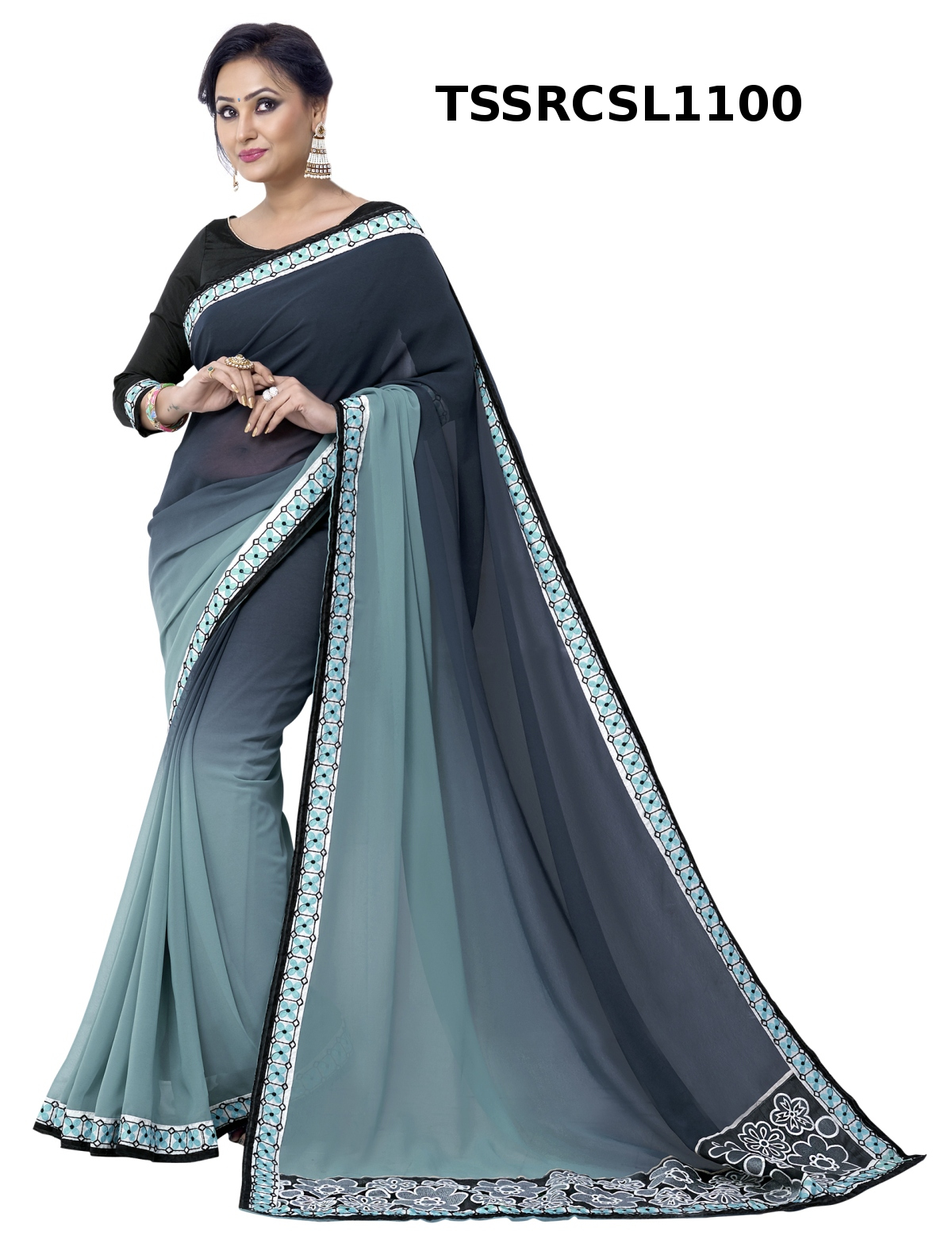 Chinmay – Heavy Rich Look Designer Saree Buy Online