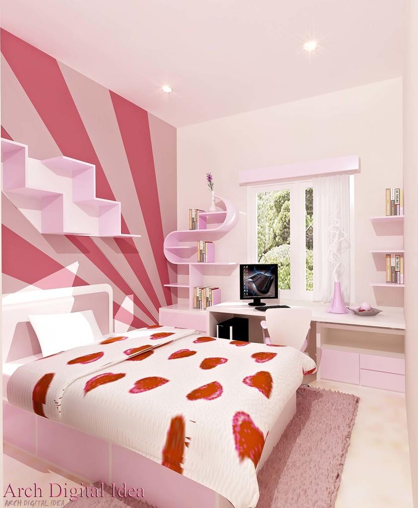 desain cat kamar tidur unik | sobat interior rumah