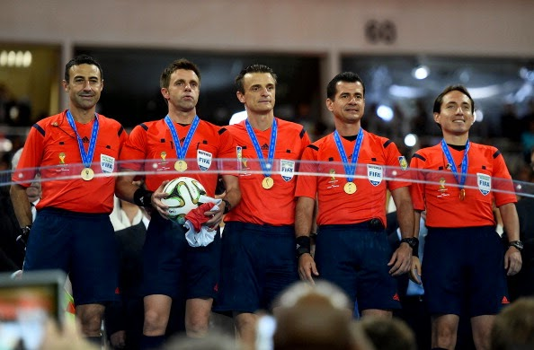 FIFA World Cup 2014 Final Referee Crew