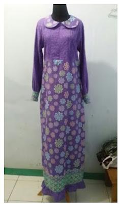 Batik Embos Gamis