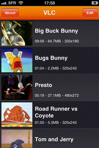 VLC Media Player for iPhone, iPod touch available for download