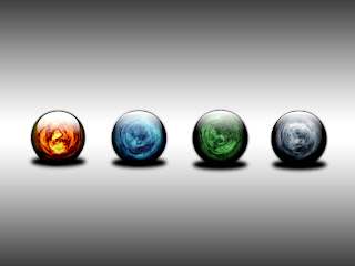 Four Elements HD Wallpaper