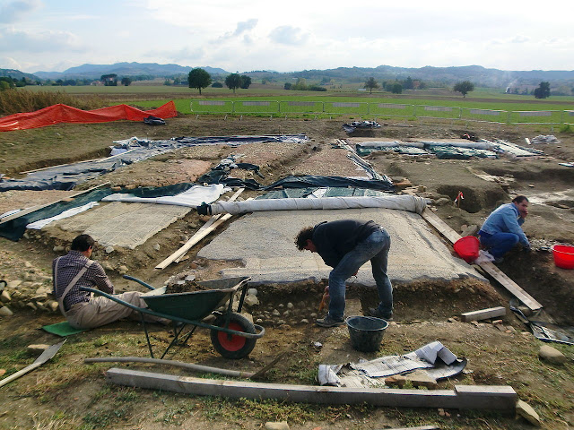 Important discoveries at the ancient Roman city of Claterna in northern Italy