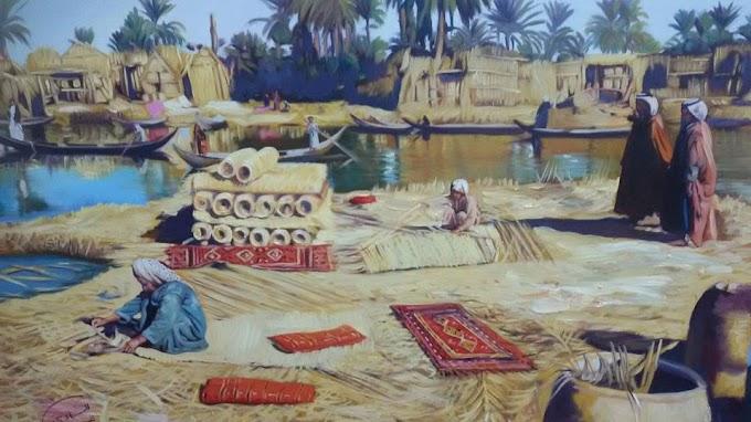 رسم رائع للفنان العراقي حسين الساعدي