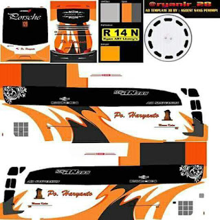 Dowmload Livery Bus Haryanto