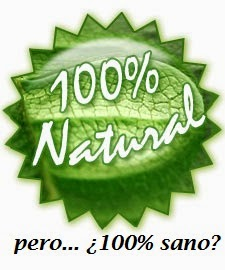 natural no significa sano
