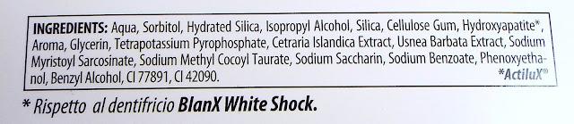 blanx white shock inci