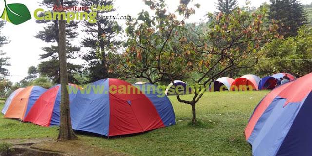Paket Camp Keluarga sekitar Sentul