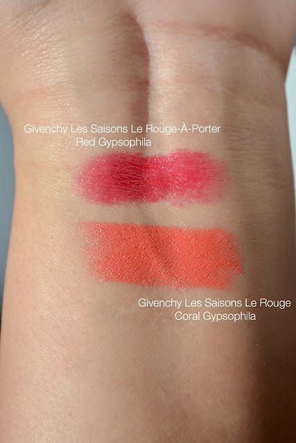 Givenchy Gypsophila Les Saisons Le Rouge Lipsticks
