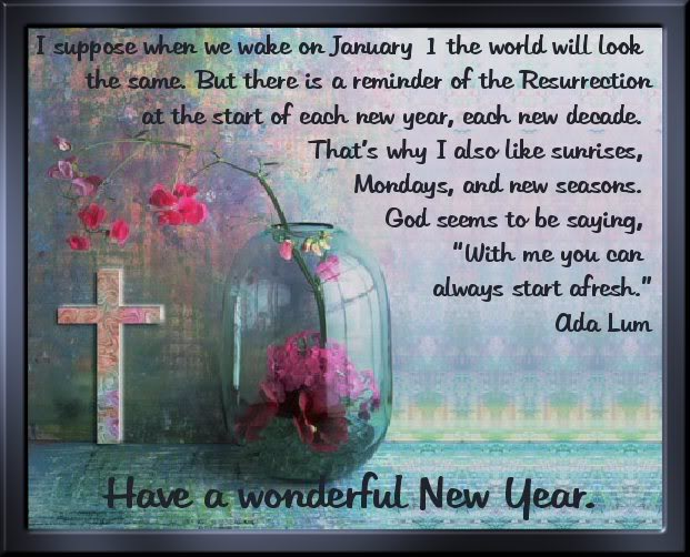 Happy New Year Religious Messages
