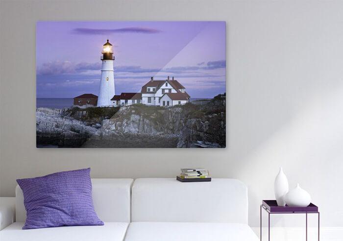 Stampa su tela come elemento decorativo di un'abitazione