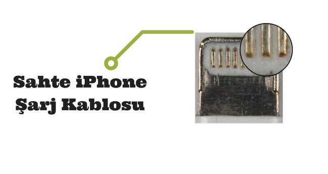 sertifikasız iphone şarj kablosu