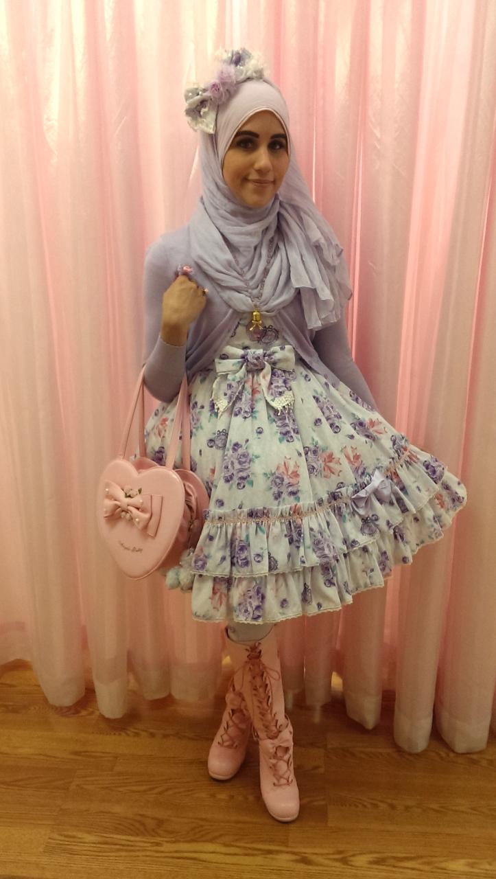 ازياء محجبات مستوحاة الموضة اليابانية tumblr_nkislym6W11qi