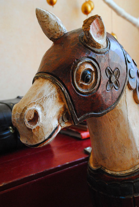 antiek paard