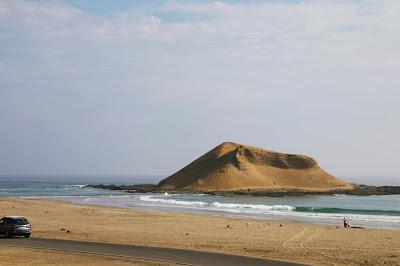 Playa Faraon, Playa la Isla Supe, Playa Norte Chico