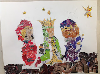 6th grade Advent Christmas Collage from Black Friday Ads