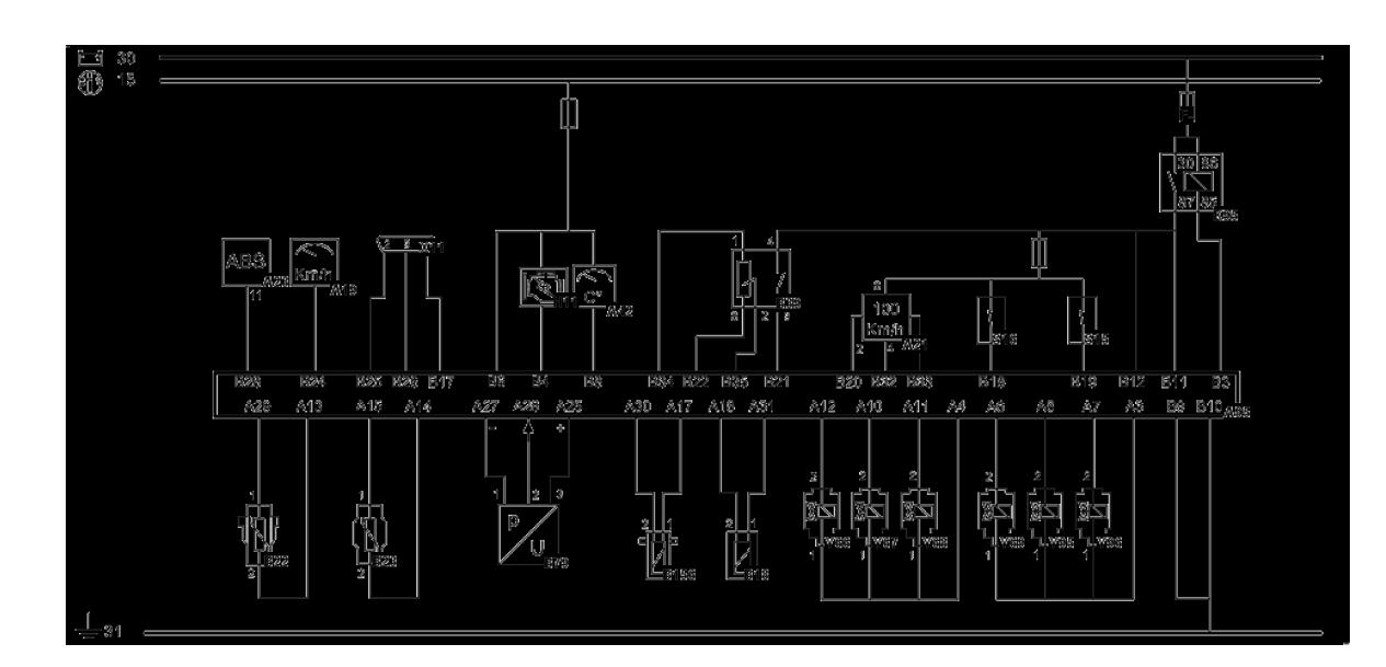 Volvo-fh-12 D12a-380  Wiring Diagrams