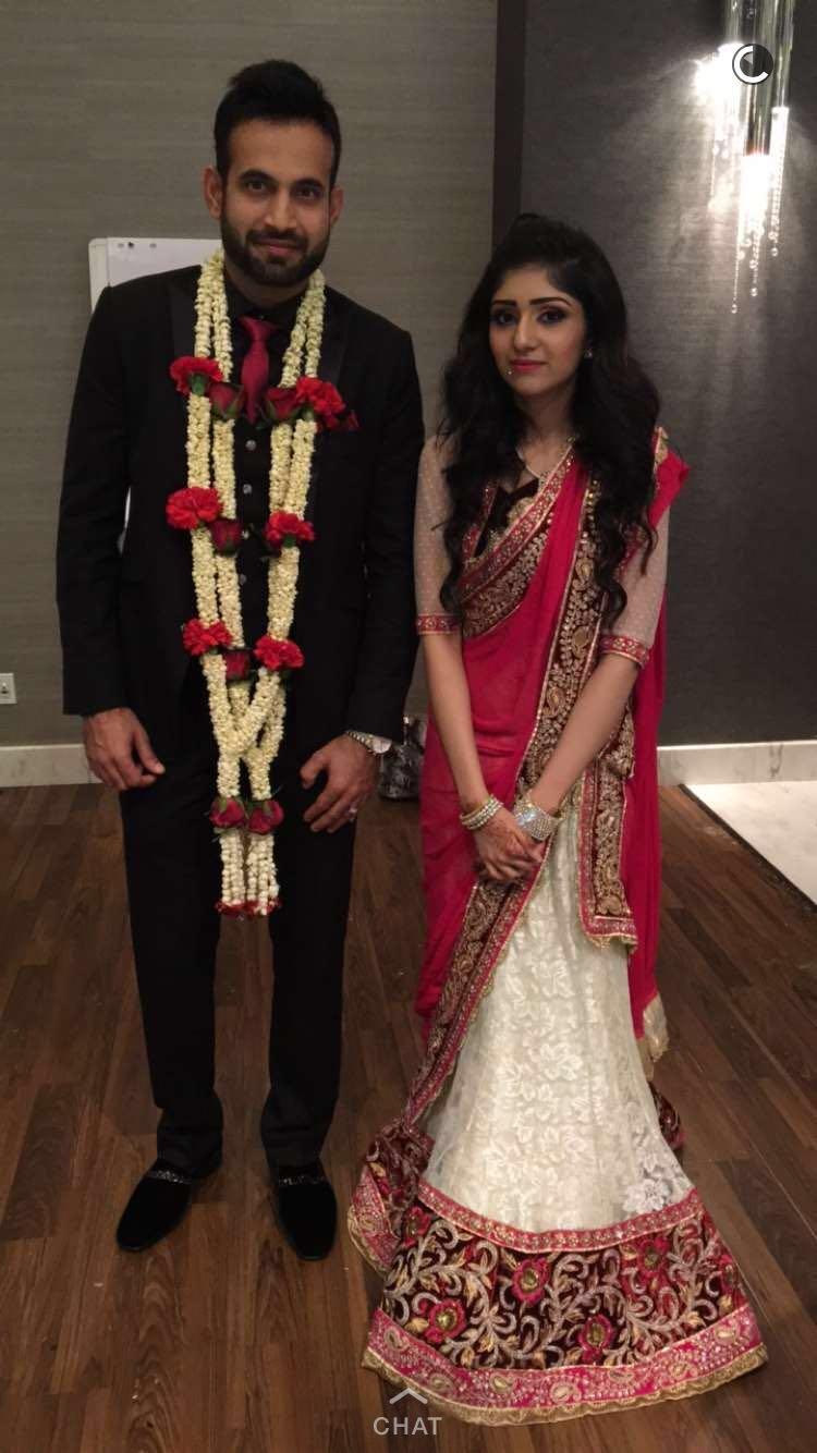 Irfan Pathan Indian Cricketer Marriage In Jeddah Saudi Arabia