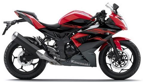 Spesifikasi Kawasaki Ninja 250 RR Mono