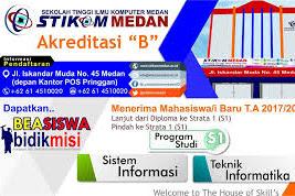 Pendaftaran Mahasiswa Baru (STIKOM) 2021-2022