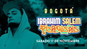 IBRAHIM SALEM PISPIRISPIS Stand Up Comedy en Bogotá