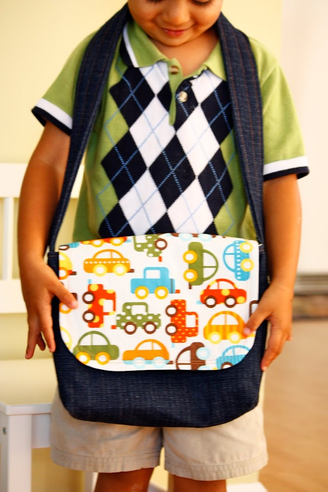 Zaaberry Kid S Messenger Bag Tutorial