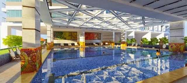 bể bơi hiện đại Green Pearl Minh Khai