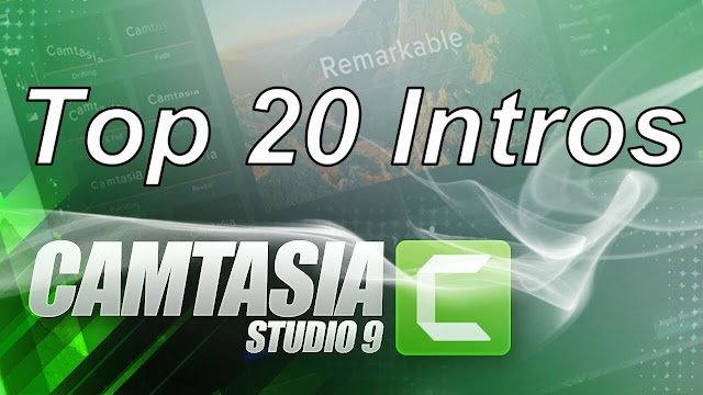 Top 20 intros for camtasia studio 9 or 8