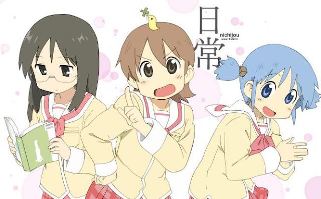 Daftar Anime School Comedy Terbaik dan Terpopuler - Nichijou