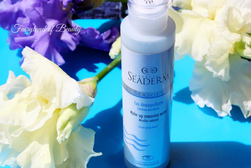 Отзыв: Мицеллярная вода для снятия макияжа с морской ключевой водой Seaderm Make-up Removing Water Solution Micallaire.