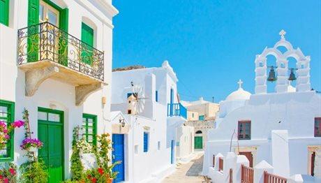 Ποιο νησί της Ελλάδας είναι απ' τους πιο πολύχρωμους τόπους του κόσμου;;