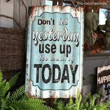 good morning today sign quote images
