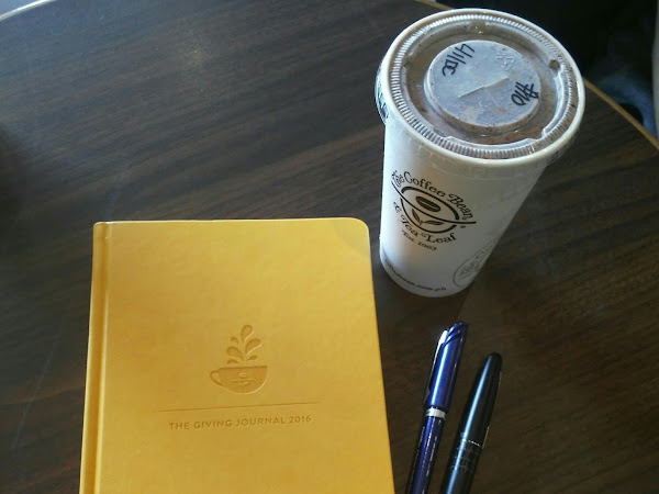 Hello 2016! Plus Coffee Bean and Tea Leaf Giving Journal 2016 Giveaway!