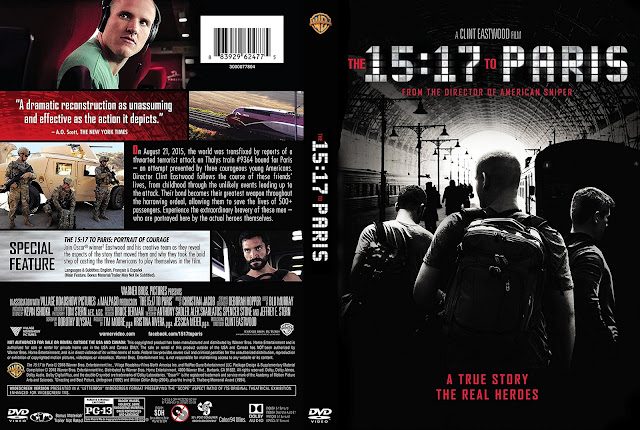 The 15:17 to Paris (scan) DVD Cover