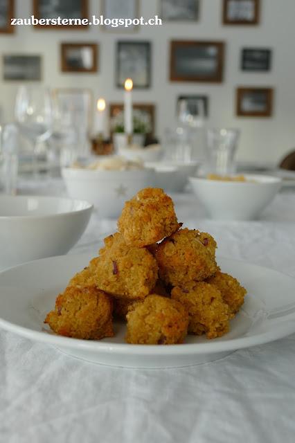 Rezept Hummus, Kachari, Chapati, Gelberbsen Vadai, vegetarische , indische PLätzchen, Gerichte, Kichererbsen