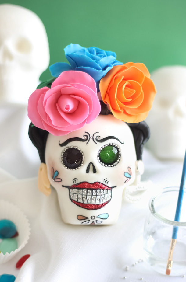 How To Make Sugar Skulls For Day Of The Dead Sprinkle Bakes