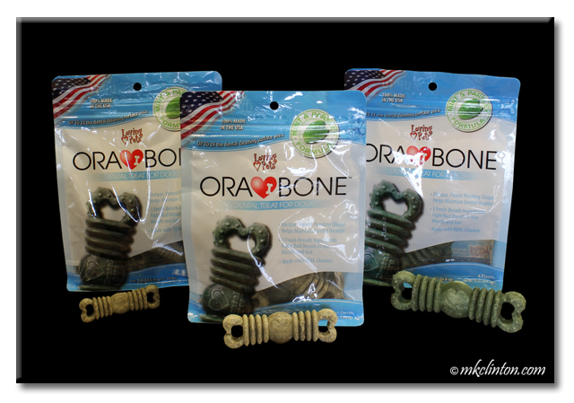 Three bags of Loving Pets ORA BONE