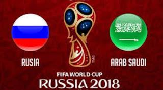 Susunan Pemain Rusia vs Arab Saudi - Piala Dunia 2018