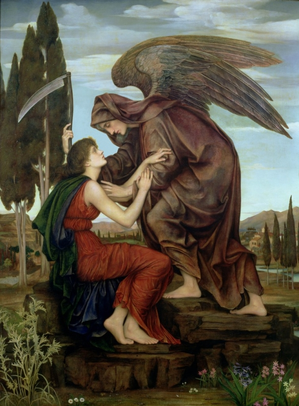 Azrael (Evelyn De Morgan)