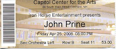 John Prine, April 25, 2008