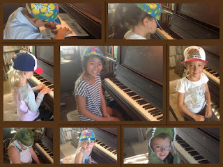 Piano Students Wearing Hats l LadyD Books
