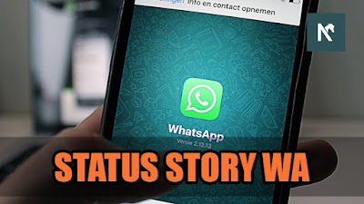 Cara Download Foto dan Video di WhatsApp Status Story