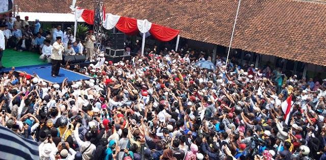 Dikunjungi Prabowo, Ponpes NU Di Garut Berdoa Dapat Presiden Baru