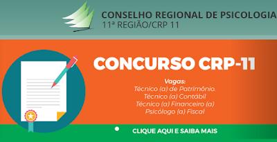Concurso CRP 11 Ceará 2019: Apostila, Edital e Inscrição