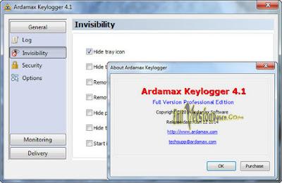 Download Ardamax Keylogger 4.5.1 Full Version